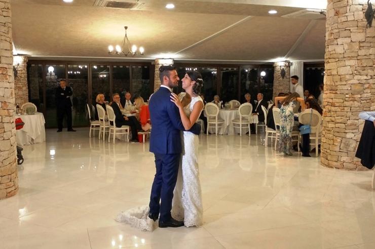 Musica ballo sposi a Villa Elda a Ugento