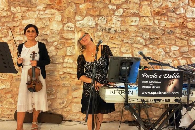 Band violino e sax musica matrimoni Lecce