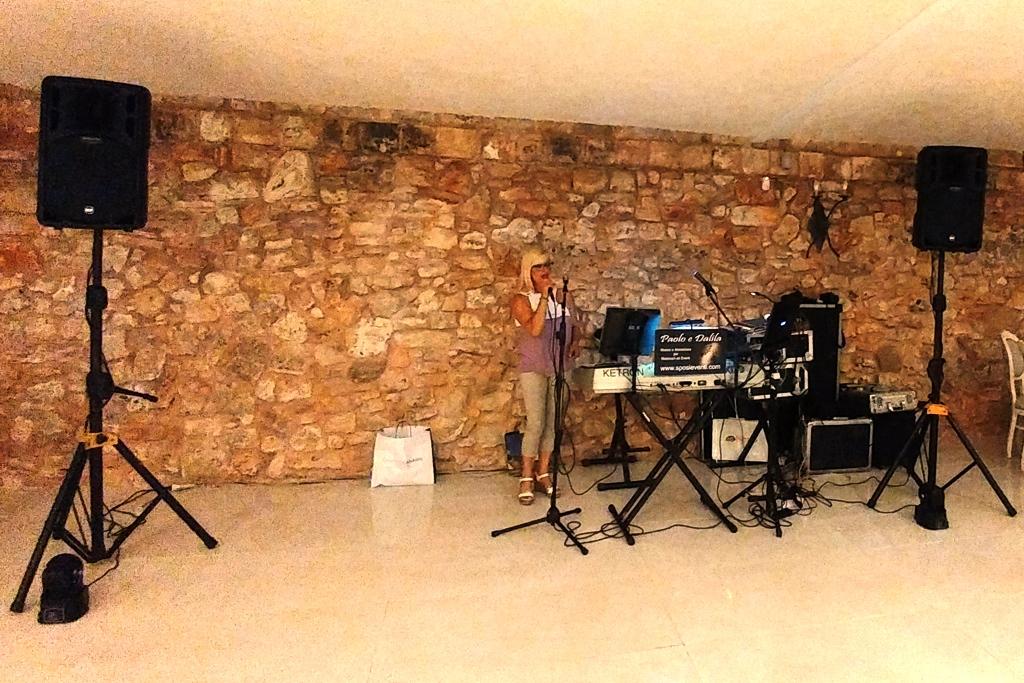 Matrimonio a Villa Elda Ugento con la musica del gruppo di Paolo e Dalila Live