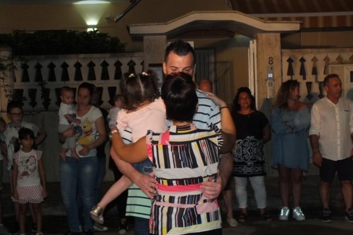 La serenata a Taranto organizzata da Paolo e Dalila Live