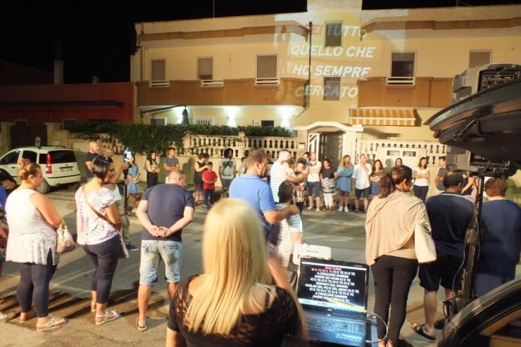 Paolo e Dalila musica e animazione serenata Taranto e Provincia