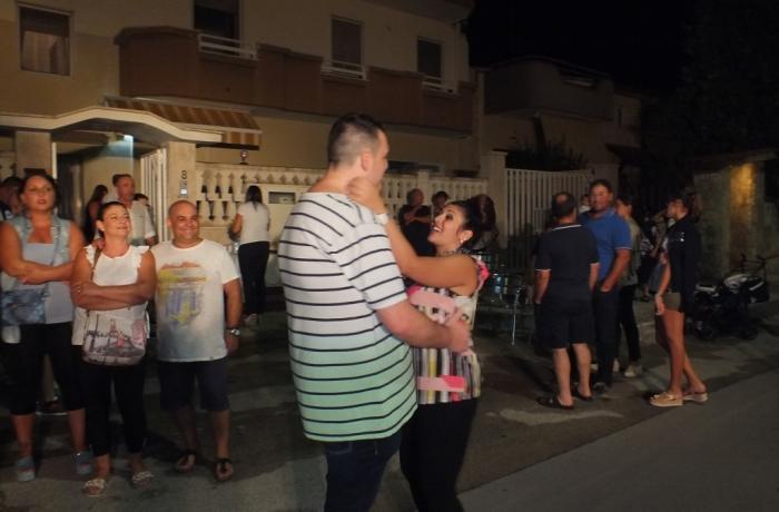 Gruppo per organizzare la serenata a Taranto