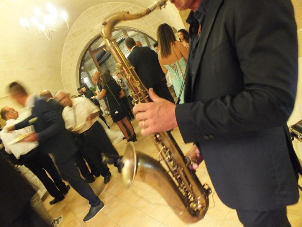 sassofonista per musica matrimoni ed eventi a Matera