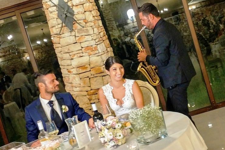 Villa Elda Ugento matrimonio con la musica scelta dagli sposi