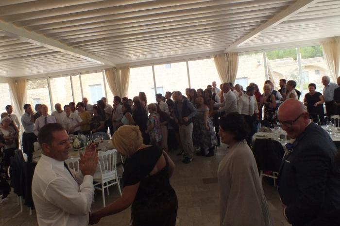 organizzare l'animazione del matrimonio nel Salento con il gruppo di Paolo e Dalila Live
