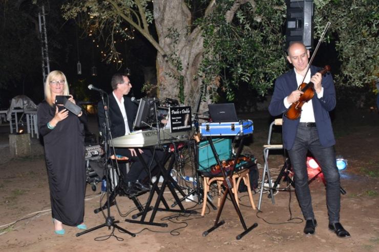 Band con violino e sax per musica matrimonio Lecce