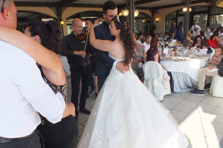 Rivimenti Hotel Ermitage Galatina, matrimonio di Noemi e Daniele