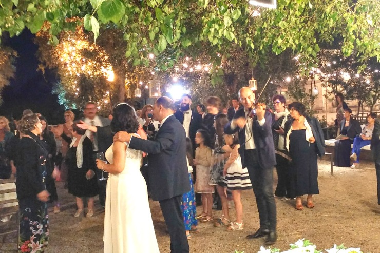 Matrimonio a Lecce con l'intrattenimento musicale del gruppo di Paolo e Dalila Live
