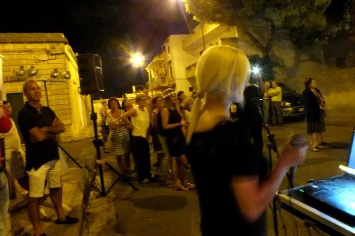 musicisti che organizzano la serenata in Provincia di Lecce