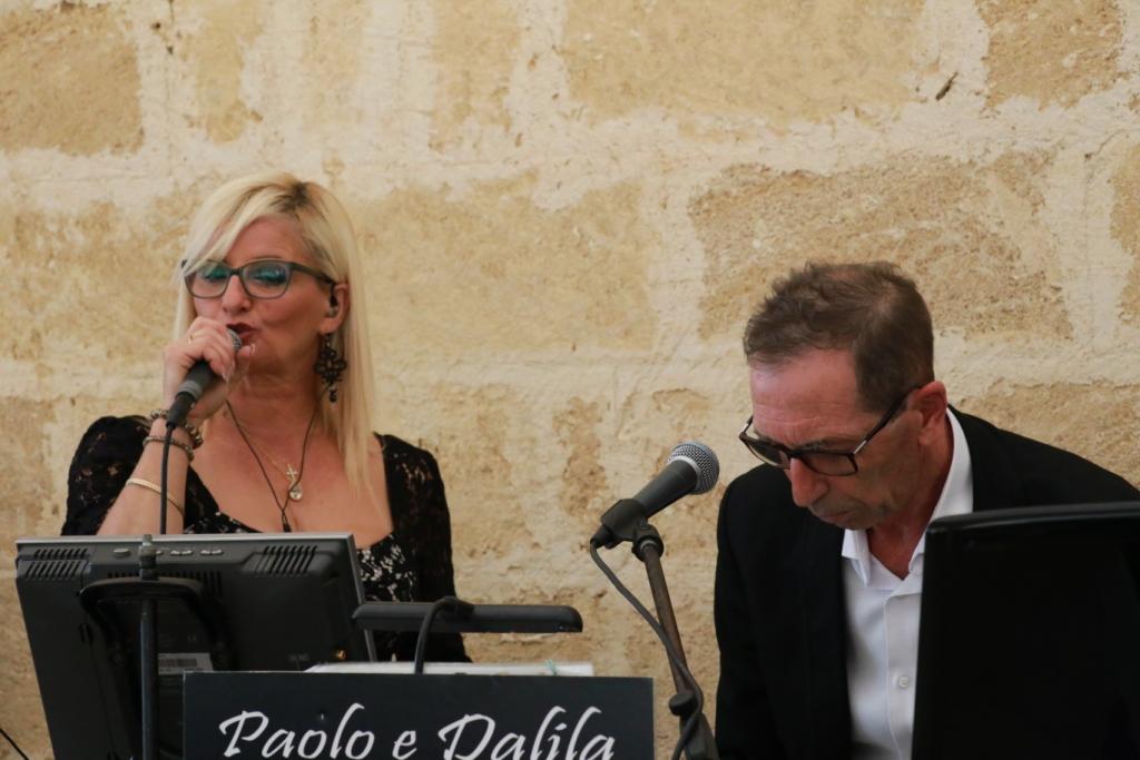 Gruppo musicale di di Lecce per matrimoni, Paolo e Dalila Live