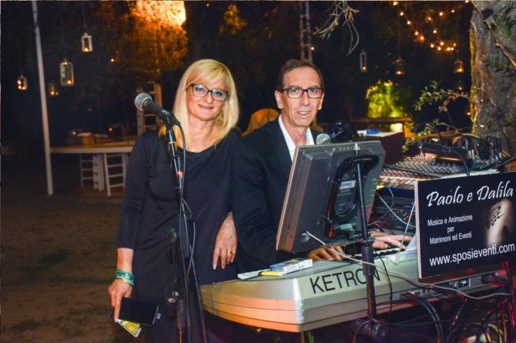 Gruppo per la musica dei matrimoni ed eventi in Puglia, Paolo e Dalila Live