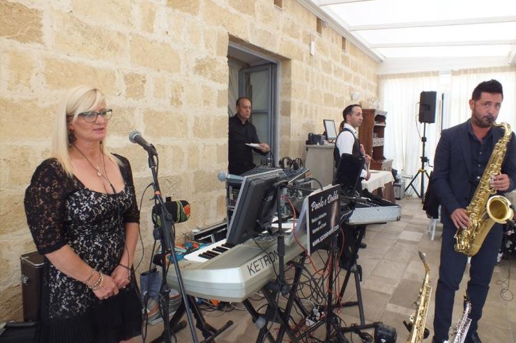 musica salento sposi gruppo Paolo e Dalila Live