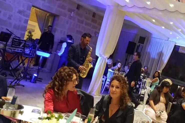 Band con sax per musica matrimonio Lecce