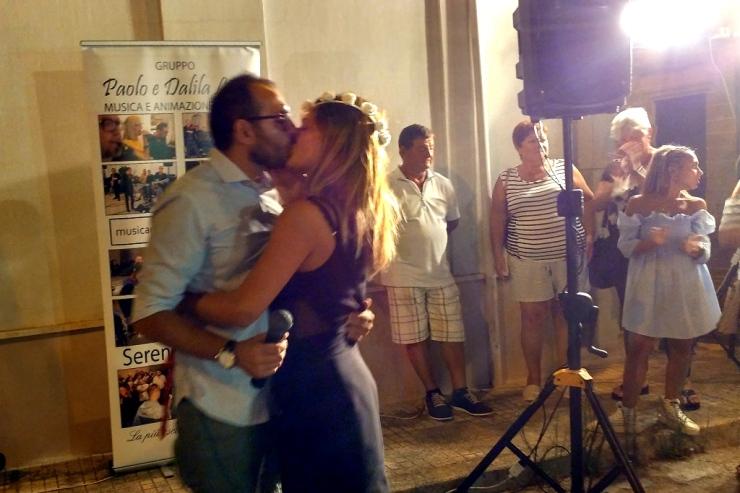 A Ugento (Lecce) nicola organizza la serenata a Maria Cristina