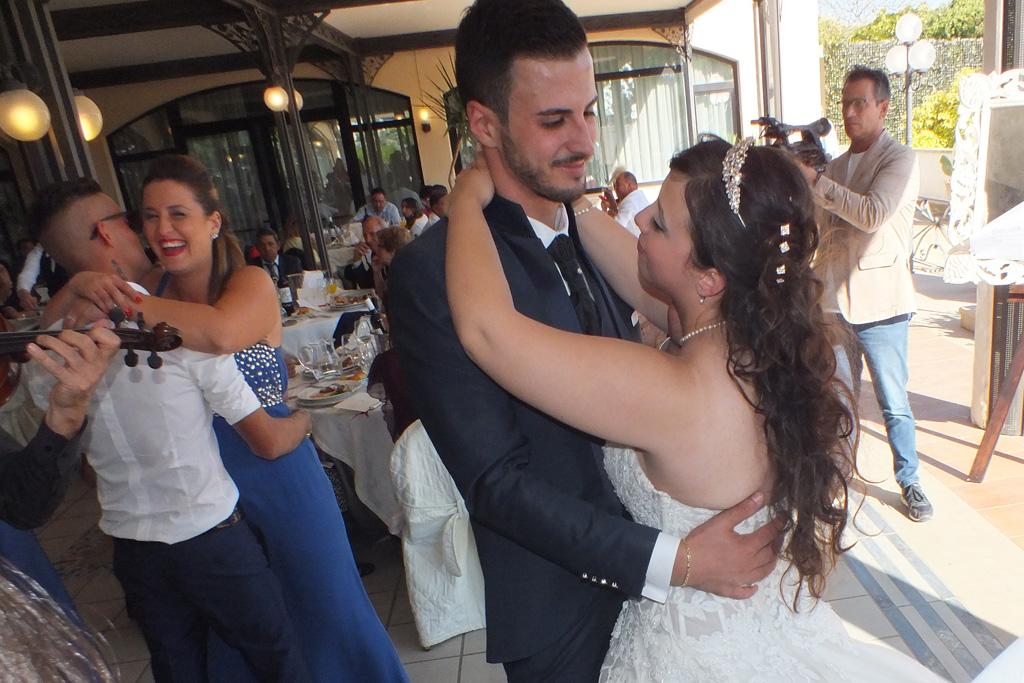 ballo sposi matrimonio hotel Ermitage a Galatina