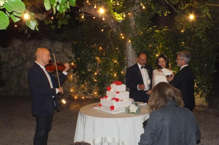 Paolo e Dalila Live gruppo con violinista per la musica dle matrimonio a Lecce e provincia
