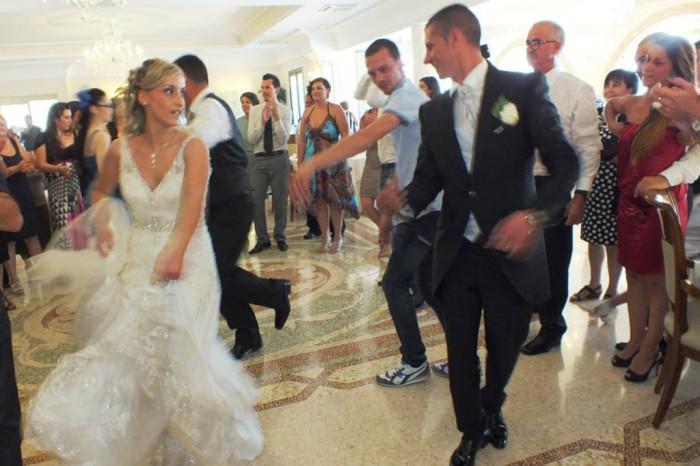 Augustus Resort matrimonio con la musica e animazione del gruppo di Paolo e Dalila Live