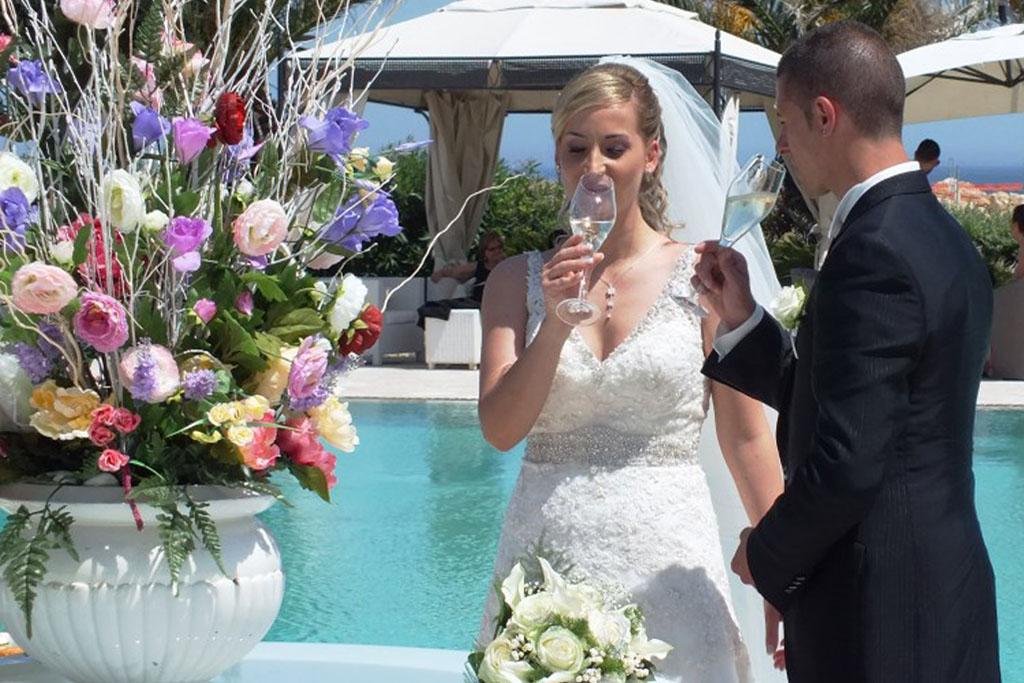 Sala ricevimenti in Puglia per matrimonio Augustus Resort