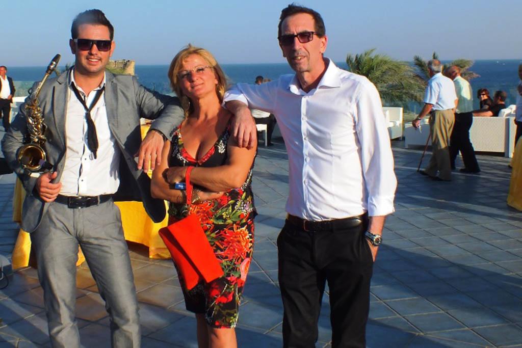 Gruppo musicale per la musica del matrimonio presso l'Augustus Resort a Santa Cesarea Terme