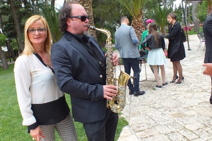 Gruppo per la musica del matrimonio a Castello Monaci