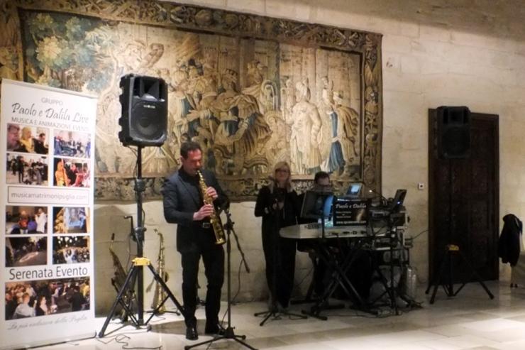 Gruppo musicale che suona durante i matrimoni a Lecce
