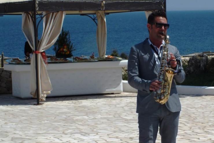 Matrimonio Lecce e provincia musica con il sax