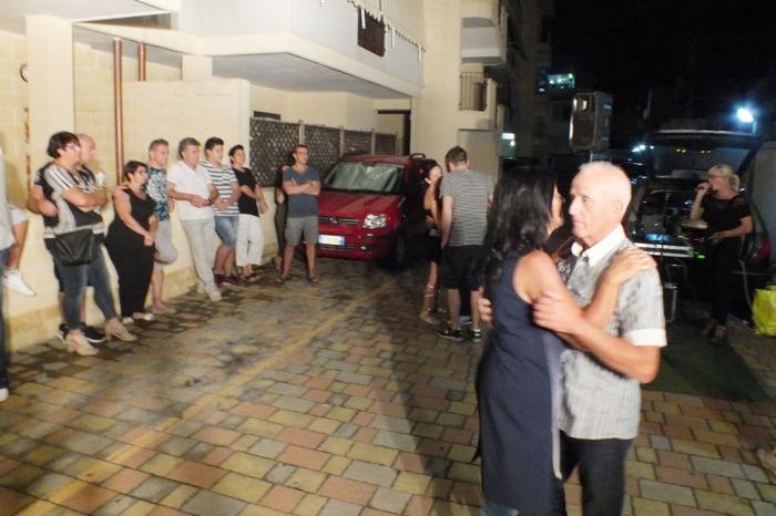 musicisti che organizzano la serenata a Pulsano e in tutta la provincia di Taranto
