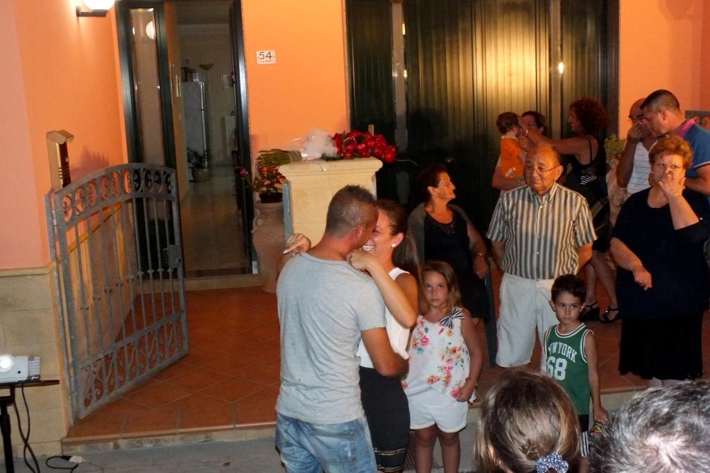 Serenata organizzata a Neviano