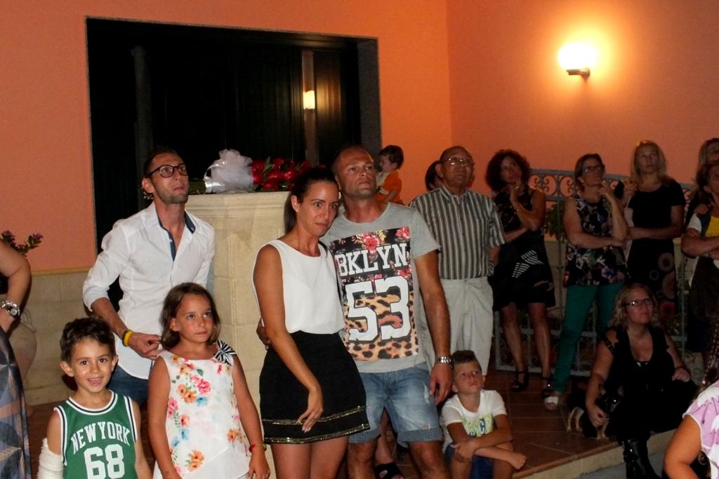 Neviano - Lecce, la sopresa della serenata