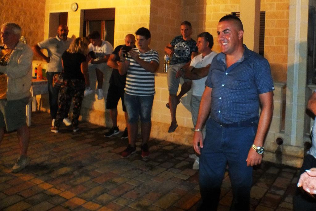 Gruppo musicale per la serenata in Provincia di Taranto