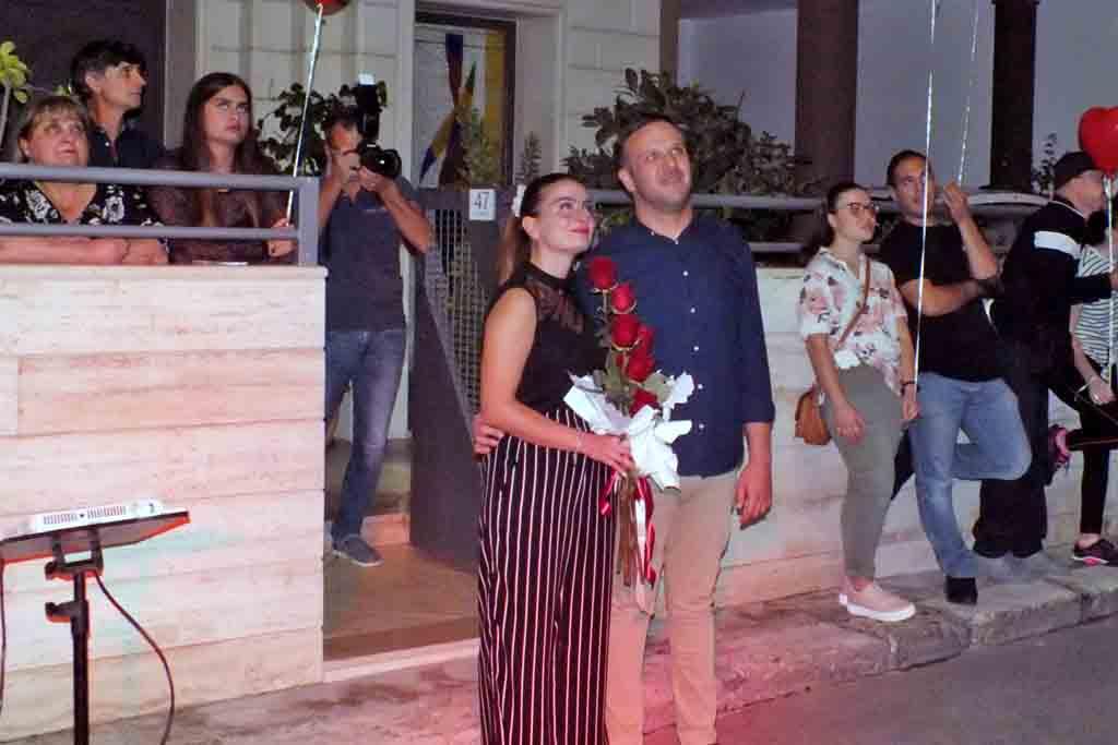 sorpresa sposa serenata Neviano Lecce