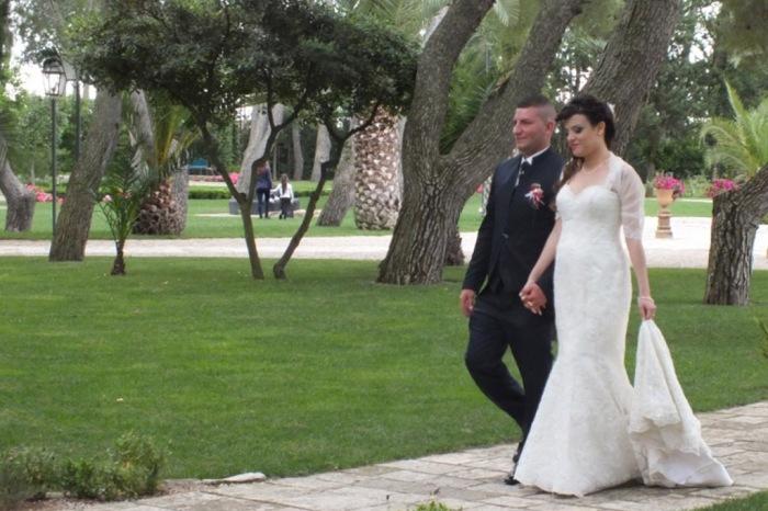 Castello monaci sposi che hanno scelto la musica del gruppo di Paolo e Dalila Live