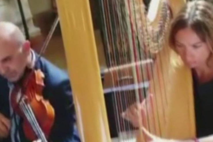 Musica matrimonio Lecce e Brindisi, Duo con arpa e violino