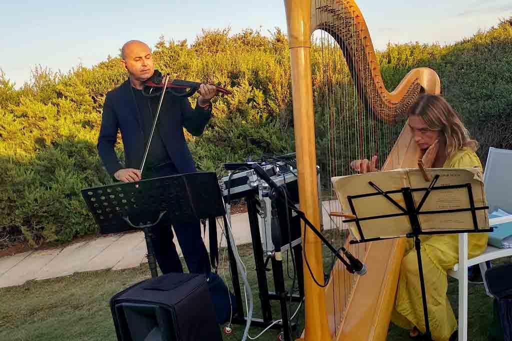 Arpa violino musica cerimonia Lecce Brindisi