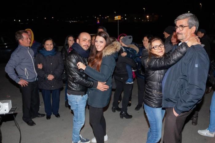 Serenata organizzata dalla sposo a Capurso - Bari