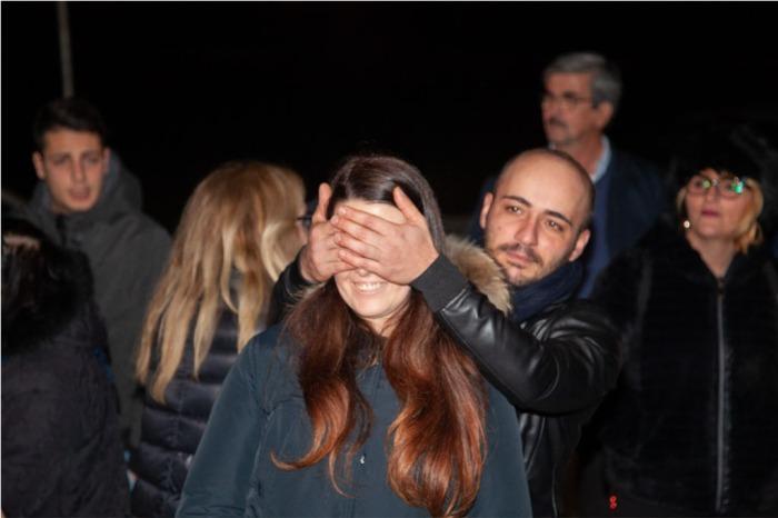 Capurso in provincia di Bari la serenata alla sposa