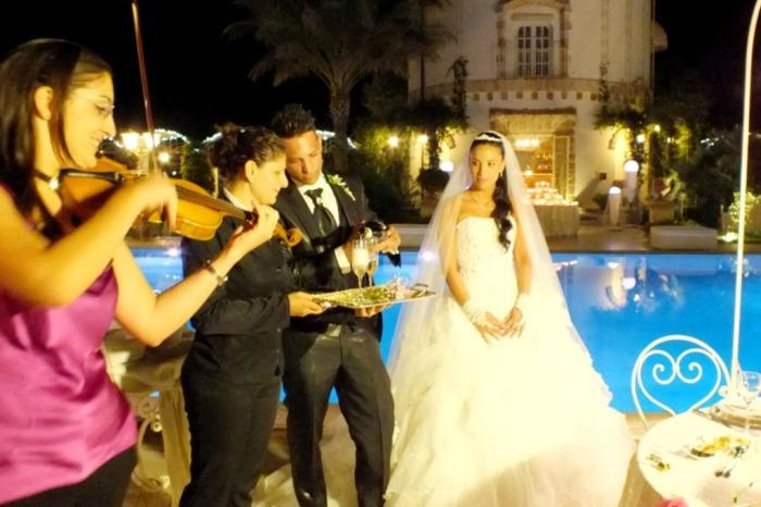 Band con violinista per musica matrimonio Lecce