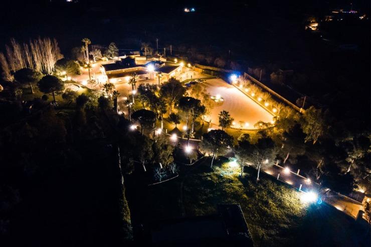 Masseria Aia Nova a Tricase sala ricevimenti