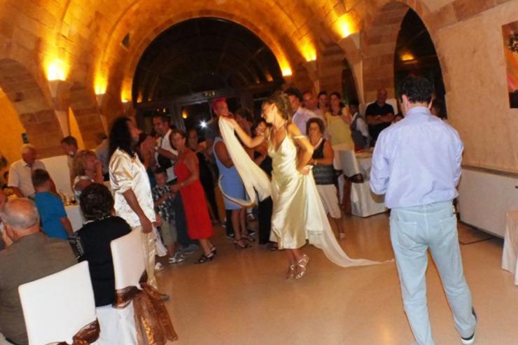 Pizzica Leccese durante un matrimonio
