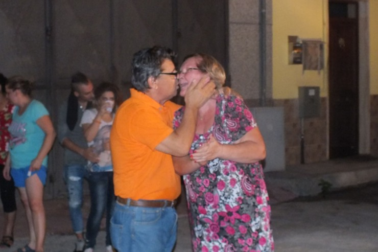 50esimo anniversario di matrimonio La serenata