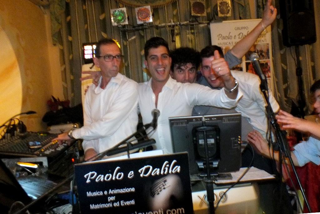 Capodanno 2019 Lecce musica gruppo Paolo e Dalila Live