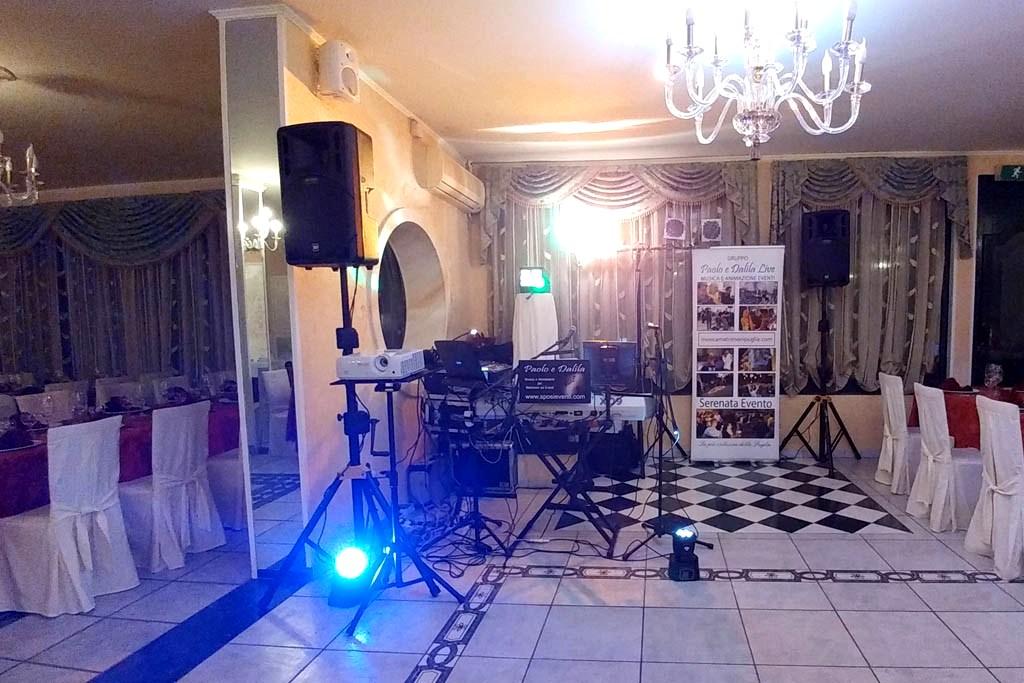 Gruppo musicale di paolo e Dalia Live animazione eventi Lecce