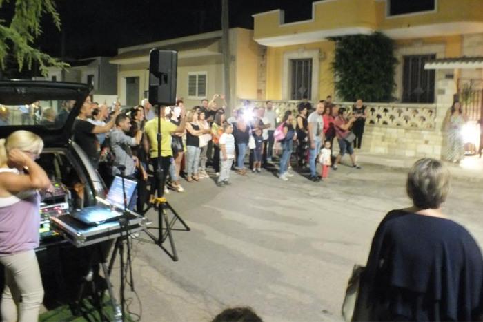 Musicisti per la serenata a Taranto