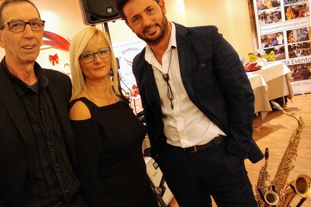 Paolo e Dalila Live band e dj musica matrimonio Foggia