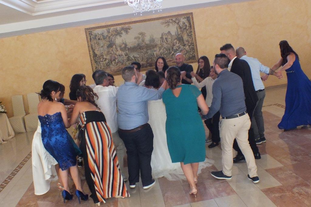 Paolo e Dalila Live animazione matrimonio Villa Eden Torre San Giovanni