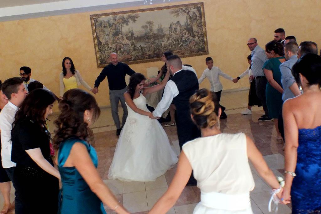 Matrimonio provincia di Lecce con l'animazione di Paolo e Dalila Live