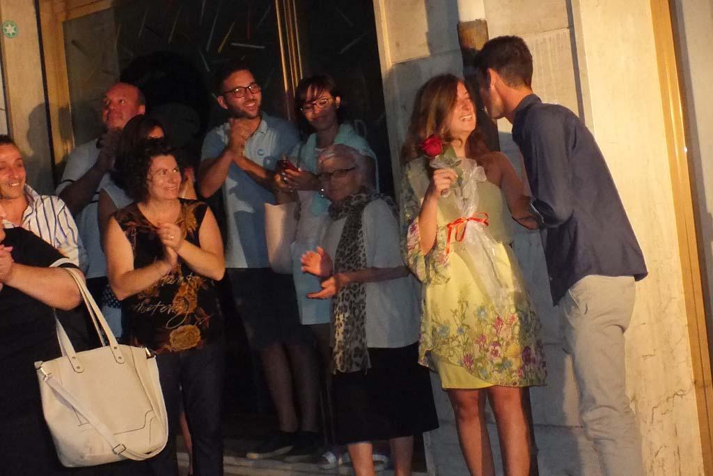 Paolo e Dalila Live musica serenata sposa Foggia