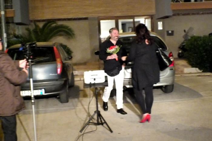 serenata romantica per la sposa a Bari Japigia