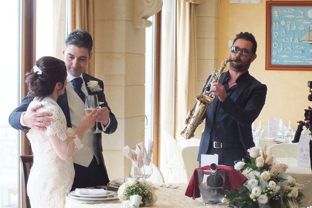 musica matrimonio ristorante profumo di mare Torre Vado