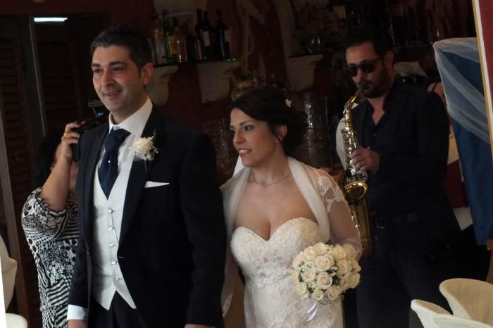 Band con sassofonista musica matrimonio Lecce
